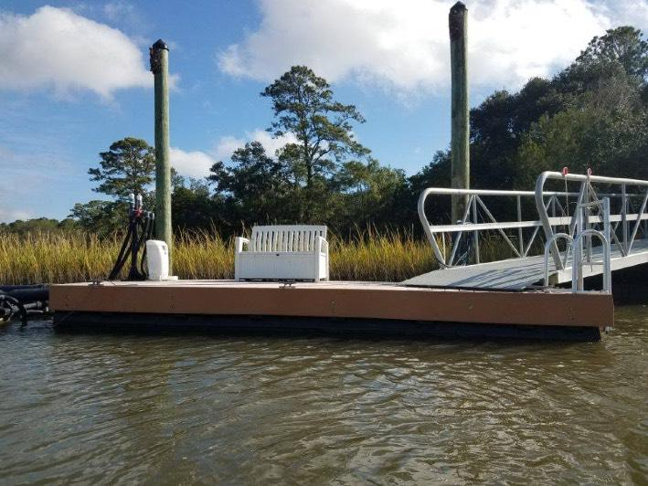 LifeDock Docking and Boat Lift Solution